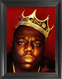 notorious big picture frame