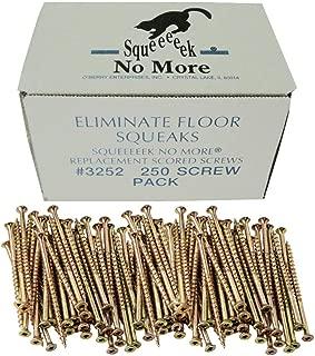 O'Berry 3252 Squeeeeek No More Floor Screws 250 per Package (Original Version)