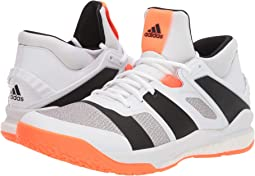 Footwear White/Core Black/Solar Orange