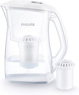 Carafe Filtrante Philips AWP2970 +1 Filtre - Ultrafiltration bactéries, calcaire, chlore, plomb et pesticides.