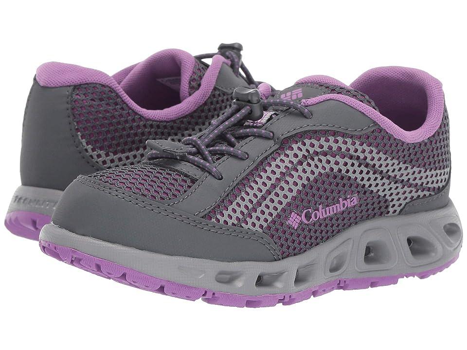 Columbia Kids Drainmakertm IV (Toddler/Little Kid/Big Kid) (Graphite/Northern Lights) Girls Shoes