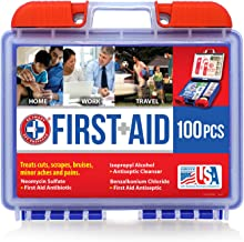 Be Smart Get Prepared 10HBC01082 100Piece First Aid Kit, Clean, Treat & Protect Most Injuries With The Kit that is great f...