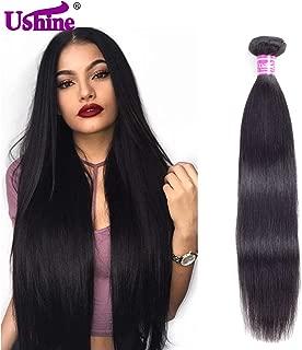 Ushine 1 Bundle 22 Inch Brazilian Straight Human Hair Bundles Unprocessed Virgin Bundles 8A Grade Human Hair Extensions Natural Color …