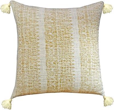 Amazon.com: YoTreasure Decorative Golden Dust Couch Woven ...