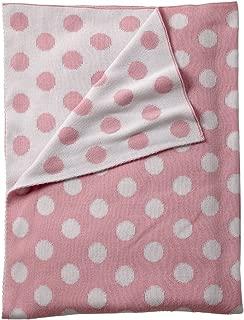 Ethan Allen | Disney Dotty Stroller Blanket, Petal Pink