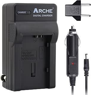 BP-808 BP808 ARCHE Rapid Charger for [Canon LEGRIA HF M306 HF M31 HF M32 HF M36 HF S10 HF S100 HF S11 HF S20 HF S200 HF S21 HF20 HF200 HF21 FS36 FS37 FS305 FS306 FS307 FS46]