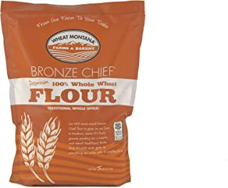 Wheat Montana - Bronze Chief Flour- 2 pack - 5lb bags by Wheat Montana