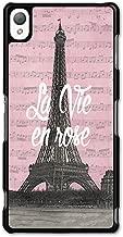 La Vie en Rose Paris France Eiffel Tower Retro Vintage Cool Fashion Design case for Sony Xperia Z3