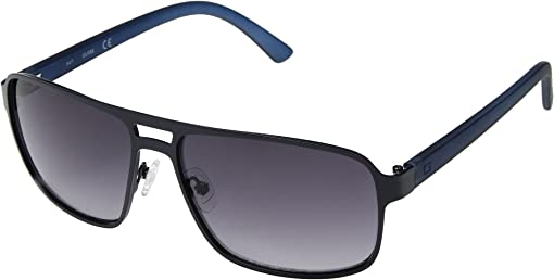 Satin Navy/Smoke Gradient Lenses