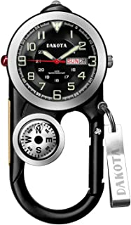 Dakota Black Angler II Clip Watch