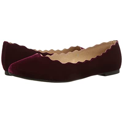 Athena Alexander Toffy (Wine Velvet Fabric) Women