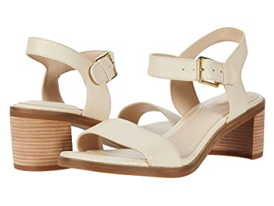 Cole Haan Anette Sandal (55 mm) (Brazilian Sand Tumble Leather/Light Natural Raw Stack) Women