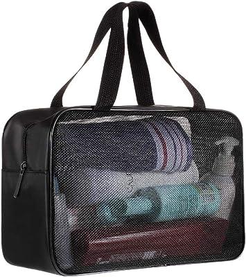 Waterproof Lightweight Heavy Duty Black SM SunniMix Big Capacity Outdoor Travel Duffle Bag Oxford Camping Sports Equipment Rucksack