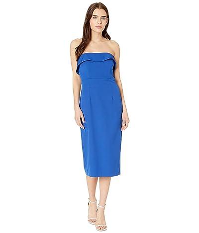 Bardot Zorianna Midi Dress (Cobalt) Women