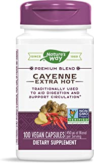 Nature'S Way - Cayenne Extra Hot 450 Mg. 100 Capsules