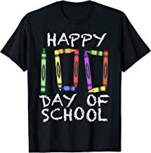 100th Day of School Shirt Crayon 100 for Teacher or Child