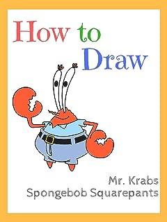 mr krabs drawing