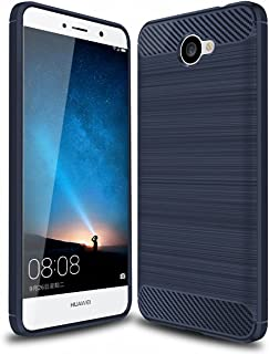 Huawei Ascend XT 2 Case SunYu Frosted Shield Luxury Matte Plastic Slim and Anti-Scratch and Non-Slip Case Cover for Huawei Ascend XT2 Phone (Blue)