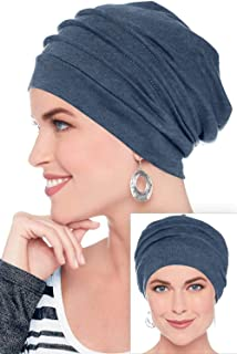 Slouchy Snood-Caps for Women with Chemo Cancer Hair Loss