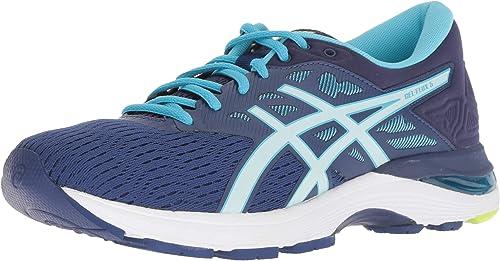 ASICS femmes Gel-Flux 5 FonctionneHommest chaussures, bleu bleu Print Soothing Sea, Taille 8  wholesape pas cher