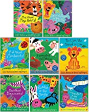 Giles Andreae Children's Books Collection 8 Books Set(Mad About Mega Beasts,ABC Animal Rhymes for You and Me,Mad About Minibeasts,Farmyard Hullabaloo,The Lion Who Wanted To Love,Mad About Dinosaurs..)