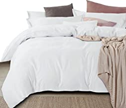 Essina King Size Quilt Cover Duvet Cover Doona Cover Set 3pc Royale Collection, Solid Colour Egyptian Cotton 950 Thread Co...