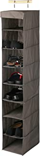 HOME PRO 8-LAYER HANGING SHOES RACK ORGANIZER EASY TO SETUP AND FOLDABLE IF NOT BEING USED20X30X120CM