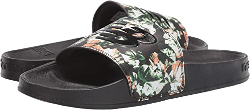 Floral/Black Synthetic