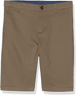 Gymboree Boys' Big' Uniform Flat Front Chino Short