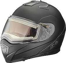 Polaris New Matte Black Eclipse Modular Snowmobile Helmet, Medium, 286855203