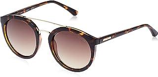 Guess Oval Sunglasses GU7387 52F Matte Black/Gradient Smoke - 52