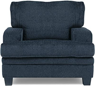 Danube Home Fabric Coaster 1 Seater Sofa (Grey)