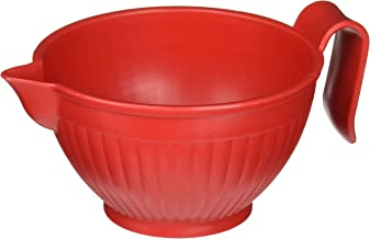 Nordic Ware Micro Mix & Melt Bowl, 3-Cup, Red