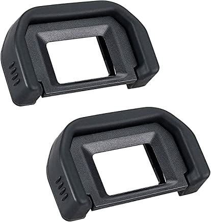 Camera Eyecup Eyepiece for Canon EF Replacement Canon Rebel T6s T6i T6 T5i T5 T4i T3i T3 T2i Canon EOS 300D 350D 400D 450D 500D 550D 600D-2 Packs