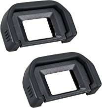 Camera Eyepiece Eyecup for Canon EF Replacement Canon Rebel T6s T6i T6 T5i T5 T4i T3i T3 T2i Canon EOS 300D 350D 400D 450D 500D 550D 600D-2 Packs