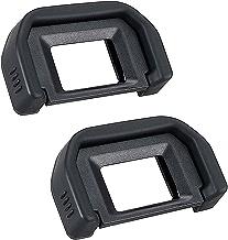 Camera Eyepiece Eyecup for Canon EF Replacement Canon Rebel T6s T6i T6 T5i T5 T4i T3i T3 T2i Canon EOS 300D 350D 400D 450D 500D 550D 600D-2 Packs