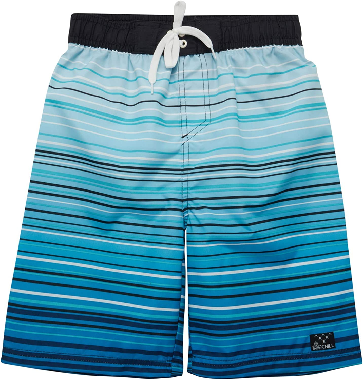 Big Chill Boys' Bathing Suit – UPF 50+ Quick Dry Board Shorts Swim Trunks (Big Boy)