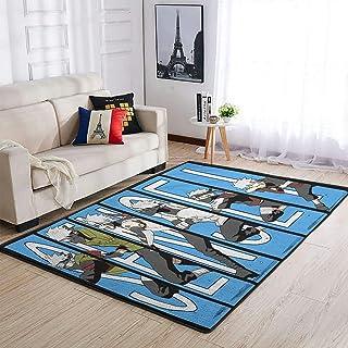 OwlOwlfan Sensel Tapis de yoga Kakashi Naruto pour chambre à coucher, sol, canapé, salon, cuisine, café, bureau, blanc 122...