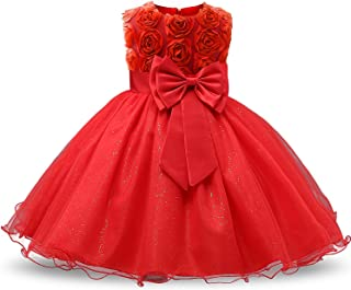 Amazones Rojo Vestidos Niña Ropa