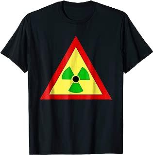 Rasta Radiation Symbol Radioactive Tshirt