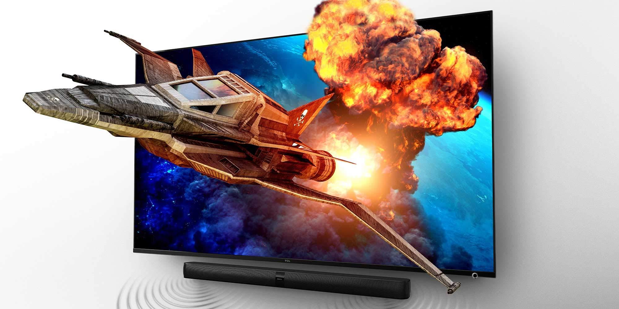 Barra de Sonido TCL TS7010 (92 cm) para TV con subwoofer ...