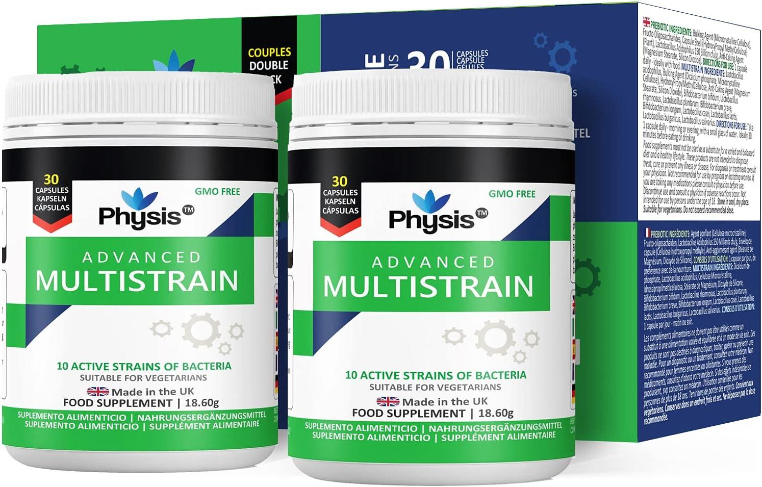 Physis Probiotics 200 billion CBE   20 bottles of 20 capsules each ...