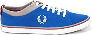 Fred Perry ADULT HALLAM TWILL Royal White 10.5 UNISEX