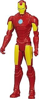 Marvel Figura de Acción Avengers Titan Hero Iron Man, 12 Pu