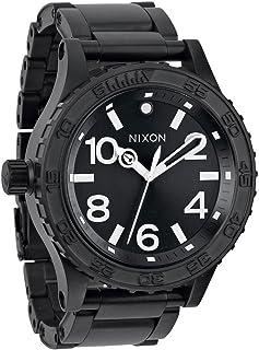 NIXON - Reloj Analógico para Hombre de Cuarzo con Correa en Titanio A351001-00