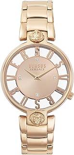 ساعة فيرساس انالوج مينا ذهبية حمراء للنساء VSP490718