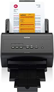 Brother ADS2400N Scanner Desktop  con Rete Cablata, 30 ppm, ADF da 50 Fogli, Dual CIS per Scansione Fronte/Retro Automatica