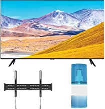 "Samsung UN50TU8000 50"" Crystal 8 Series 4K Ultra High Definition Smart TV with a Walts TV Large/Extra Large Tilt Mount for..."