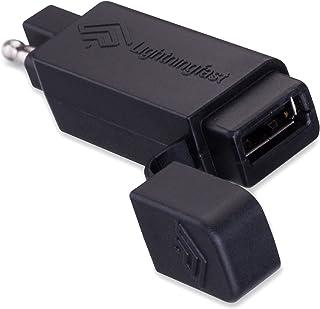 SAE به USB آداپتور - موتور سیکلت پلاگین قطع اتصال سریع - تلفن همراه شارژر با آیفون اپل و سامسونگ کهکشان کابل کار می کند - بدون تخلیه قدرت - نگه می دارد هنگامی که شما سوار اتصال