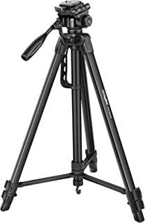 DIGITEK® DTR 550 LW (67 Inch) Tripod For DSLR, Camera |Operating Height: 5.57 Feet | Maximum Load Capacity up to 4.5kg | P...